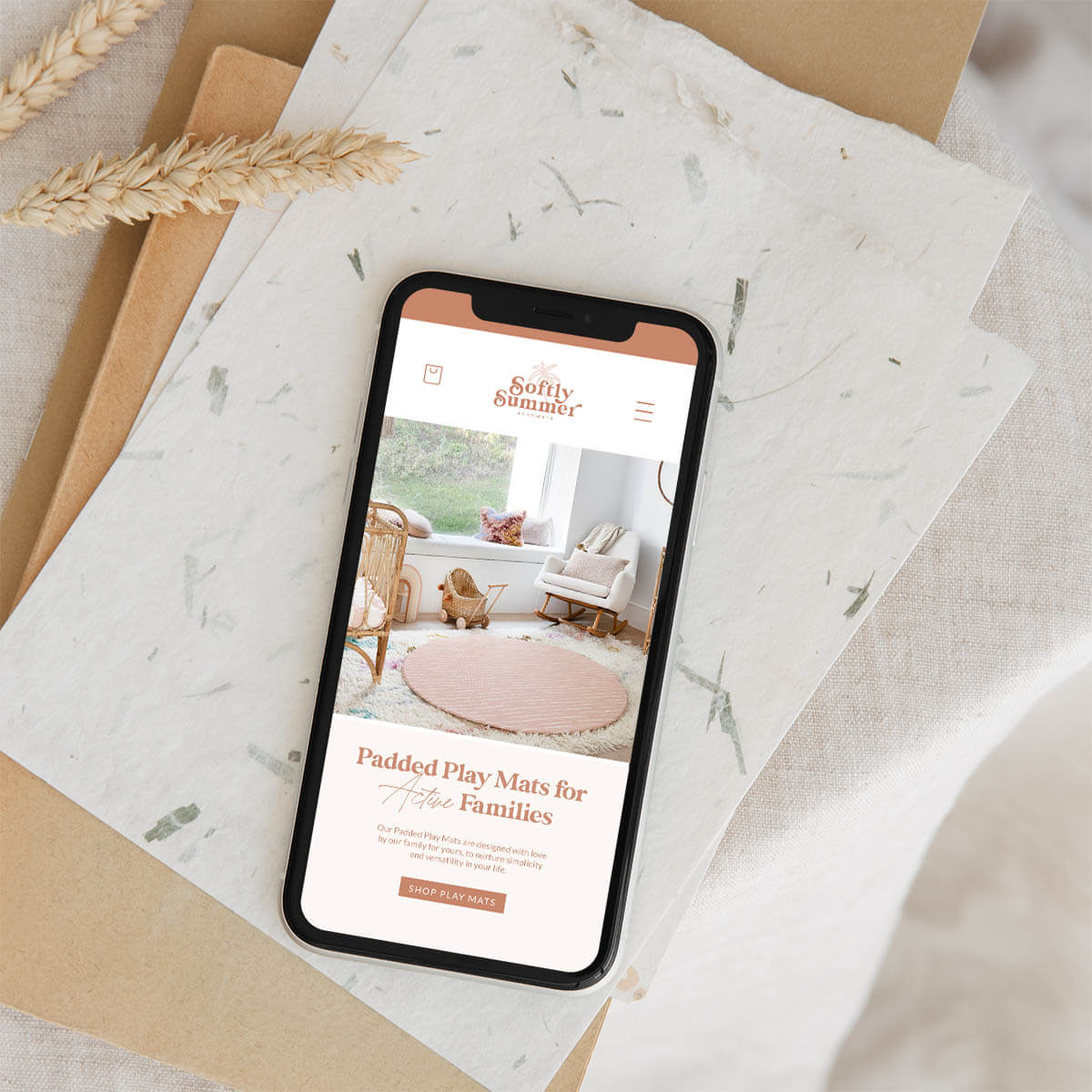 Softly Summer Website Design